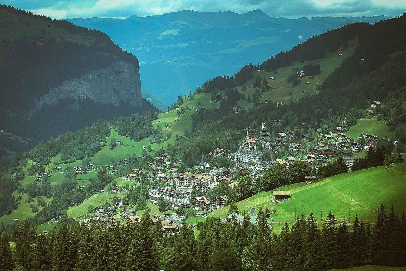 Jungfrau Morgen